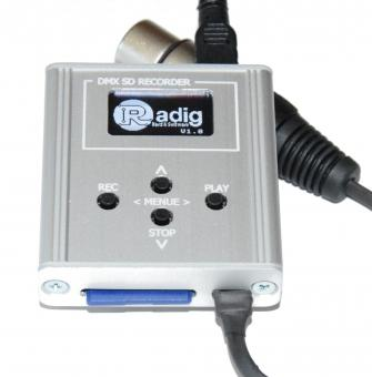 DMX Recorder / Streamer