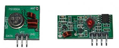 433Mhz RF Sender mit Empfänger Kit
