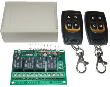 12V 4Kanal 433Mhz Sender/Empfänger