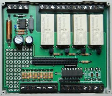 AVR-Webmodule Grundplatine