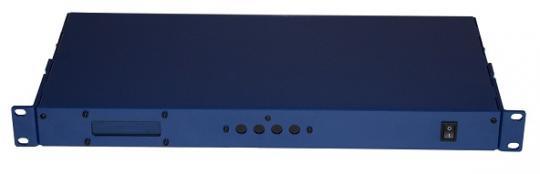 DMX 19-Zoll-Leergehäuse 1HE