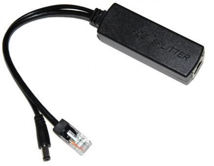 Aktiv PoE Adapter 12V 2A