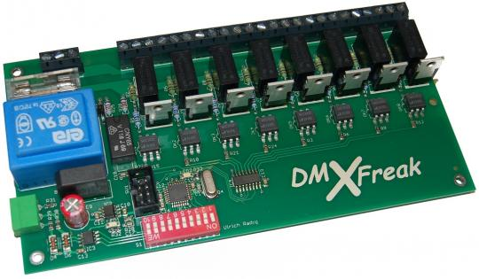 DMX Dimmer Leiterplatte