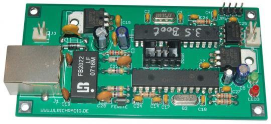 AVR ArtNet Node Bausatz