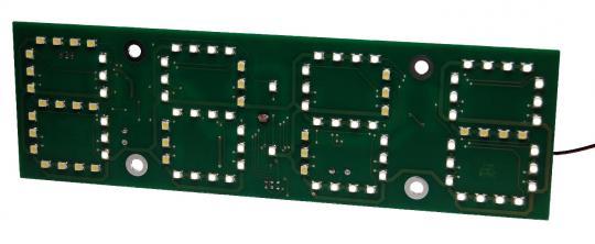 AVR 6cm LED Uhr Bausatz
