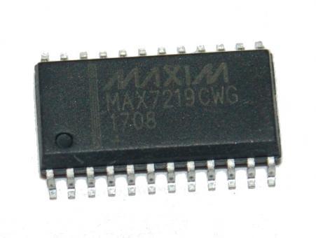 MAX 7219 CWG