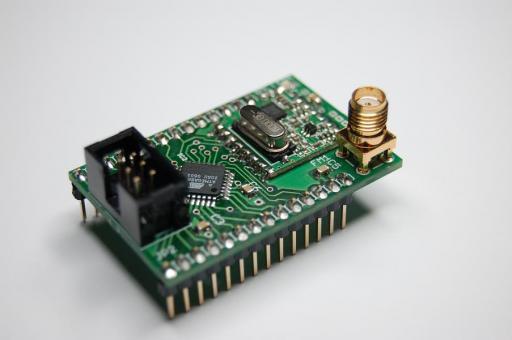 AVR RFM22 Module_PCB