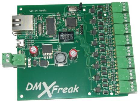 Octo DMX Node