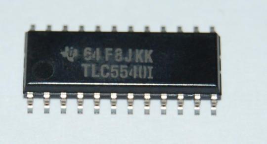 TLC5540 (AD Wandler 40MS/s)